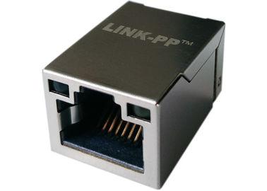Aba-Acima com o diodo emissor de luz, da montagem 1x Rj45 da superfície de LPJ19201BGNL Ethernet 10/100Base-T